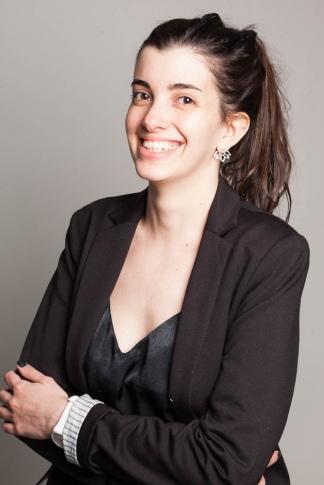 """Carolina Hadad, la """"pata tecnológica"""" del proyecto."""