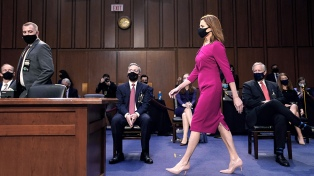 Los republicanos inician un tenso proceso para ratificar a una jueza para la Corte Suprema