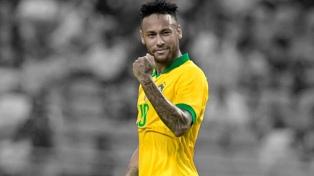 Neymar solo piensa en la final ante Argentina