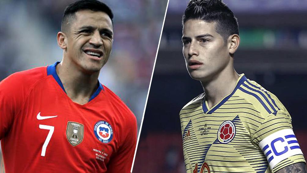 Chile, como local, busca revancha ante Colombia