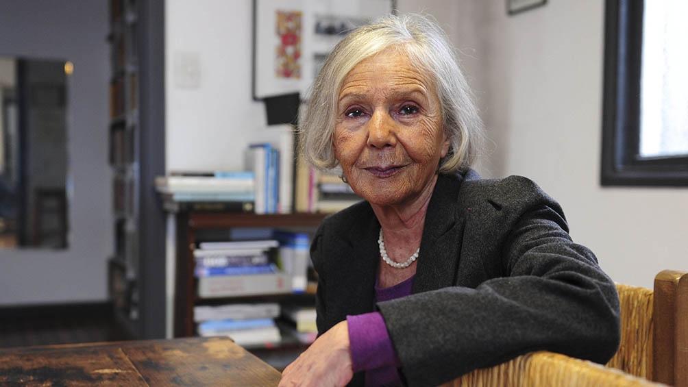 Beatriz Sarlo, muy cuestionada por sus dichos sobre Malvinas.