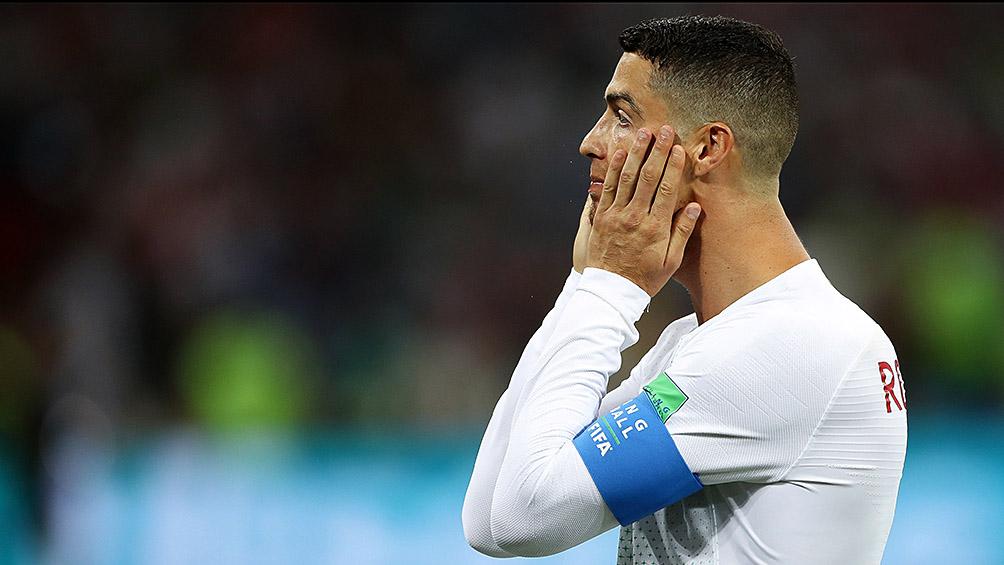 Cristiano Ronaldo dio positivo en coronavirus