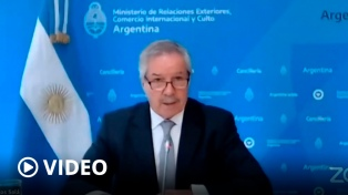 """Solá: """"Argentina seguirá defendiendo la vigencia de los derechos humanos en el mundo"""""""