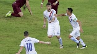 Paraguay aprovechó su chance ante Venezuela