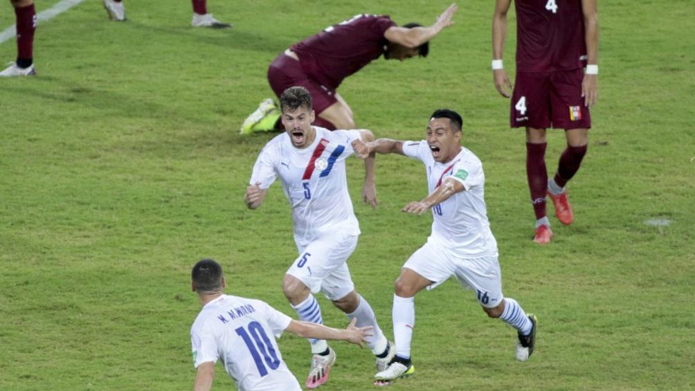 Paraguay logró una gran victoria en Mérida ante Venezuela (Foto: @albirroja)