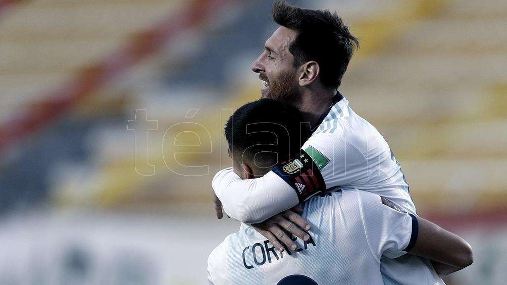 Argentina suma 1.636 puntos