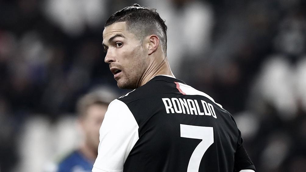 Cristiano Ronaldo dio positivo nuevamente en el testeo de coronavirus (foto archivo)