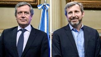 Emilio Monzó y Rogelio Frigerio