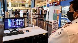 Cuál es el protocolo para los centros comerciales, que reabrieron hoy