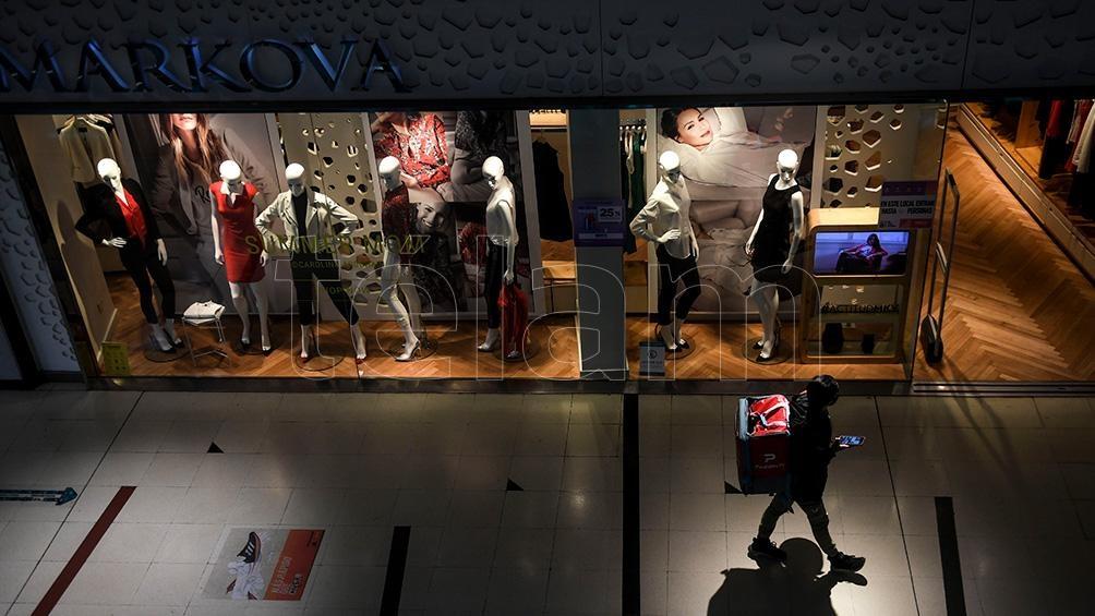 Cada shopping tiene un número máximo de visitantes permitidos.