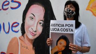 Familiares y amigos de Lucía Costa marchan para reclamar justicia