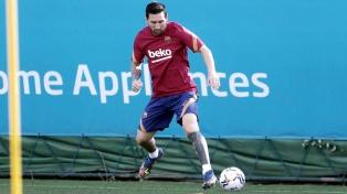 Messi ya está en España y el jueves se reincorpora a Barcelona