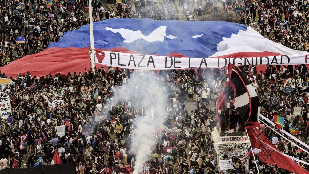 Chile vive desde el 18 de octubre de 2019 una crisis que devino en multitudinarias protestas.