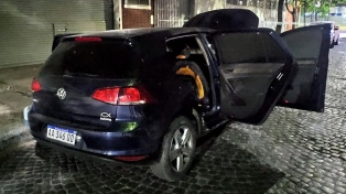Hallan quemado el auto que se cree usaron los asesinos del policía en Ramos Mejía