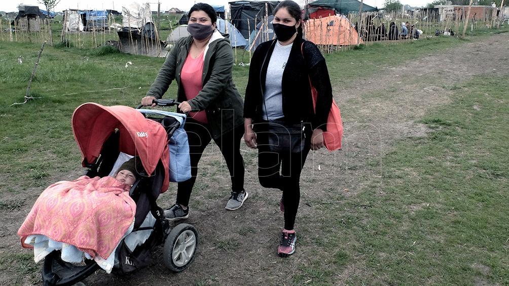 Varias familias desalojaron la ocupación en forma pacífica
