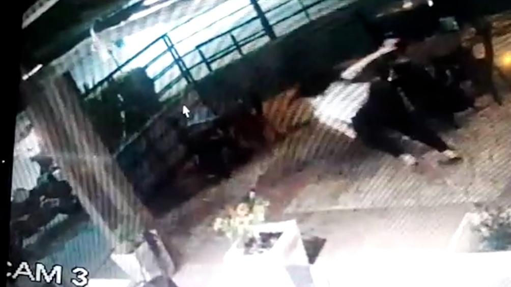 Robo y asesinato en Ramos Mejía quedó grabado en Cámaras de seguridad