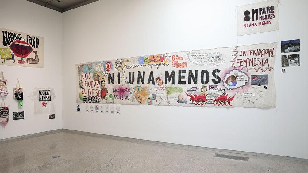 Es gestora cultural y promotora de espacios alternativos, docente y como activista es parte del colectivo de Ni Una Menos.