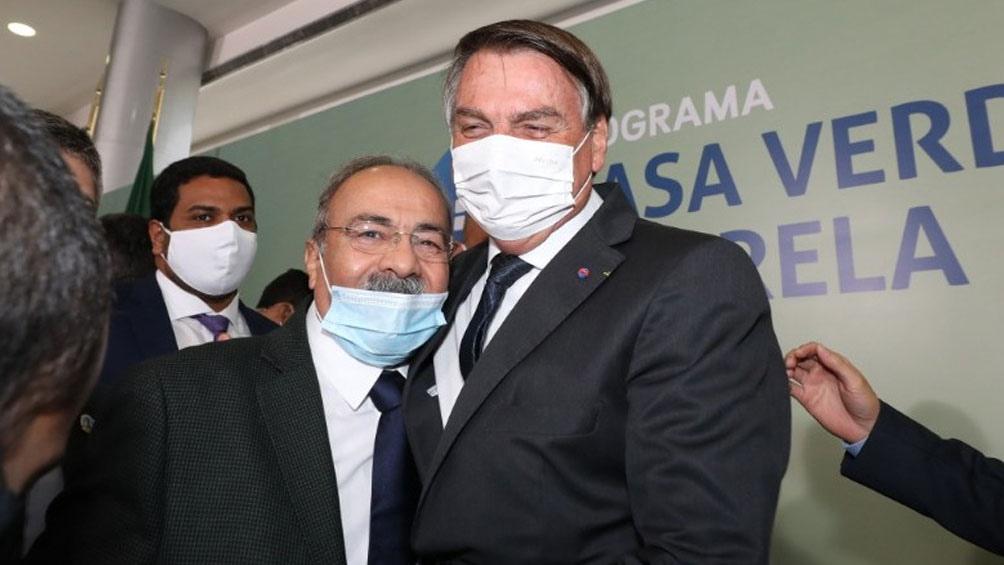 """""""Hay mucha desconfianza por el origen que tiene esa vacuna"""", afirmó Bolsonaro."""