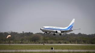 Aerolíneas anunció sus vuelos regulares de cabotaje a partir del próximo jueves 22