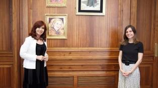 Raverta y Cristina Kirchner analizaron el proyecto de defensa del FGS