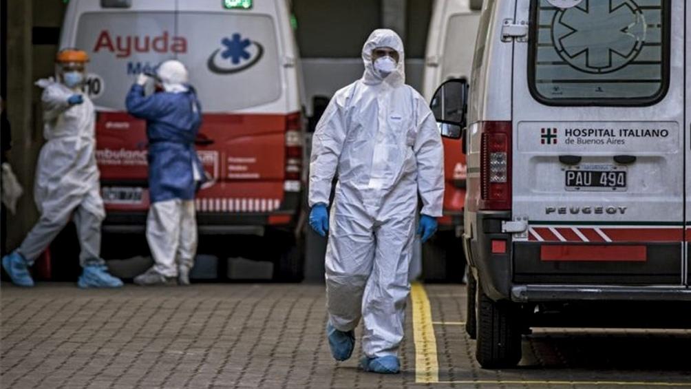 el Ministerio de Salud indicó que son 4.981 los internados en unidades de terapia intensiva