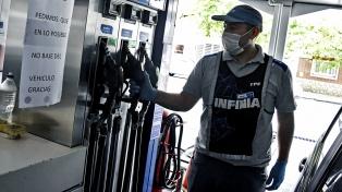 Petroleras aumentaron 3,5% los combustibles al incorporar un incremento impositivo y a biocombustibles