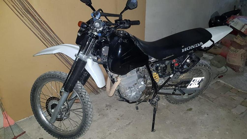 En los procedimientos se secuestró la moto Xr 250 empleada en el hecho