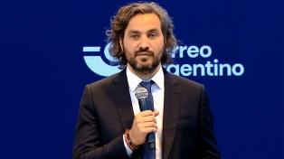 """Cafiero: """"Argentina invirtió 7 puntos del PBI en asistir a los argentinos en la pandemia"""""""