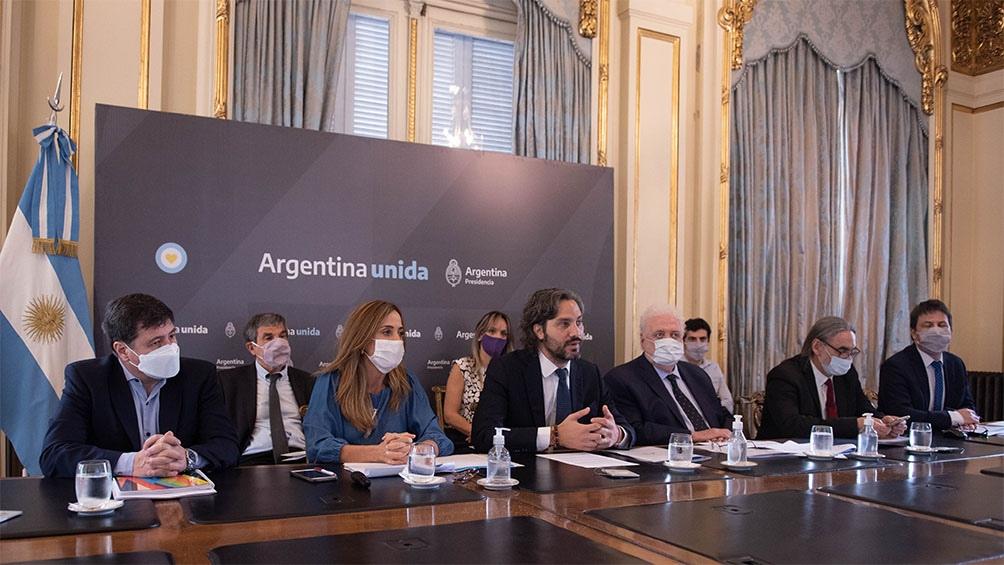 """En el acto, Cafiero explicó que con ese programa """"se logró una herramienta fundamental en el abordaje territorial""""."""