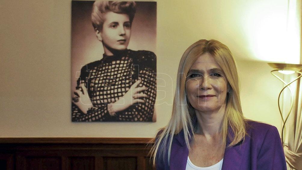 """Verónica Magario dijo que """"la independencia económica es librarnos de la deuda en que nos metió el Gobierno anterior""""."""