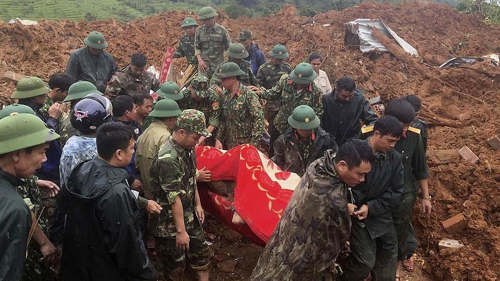 El año pasado, 132 personas murieron o desaparecieron a causa de las catástrofes naturales en Vietnam.