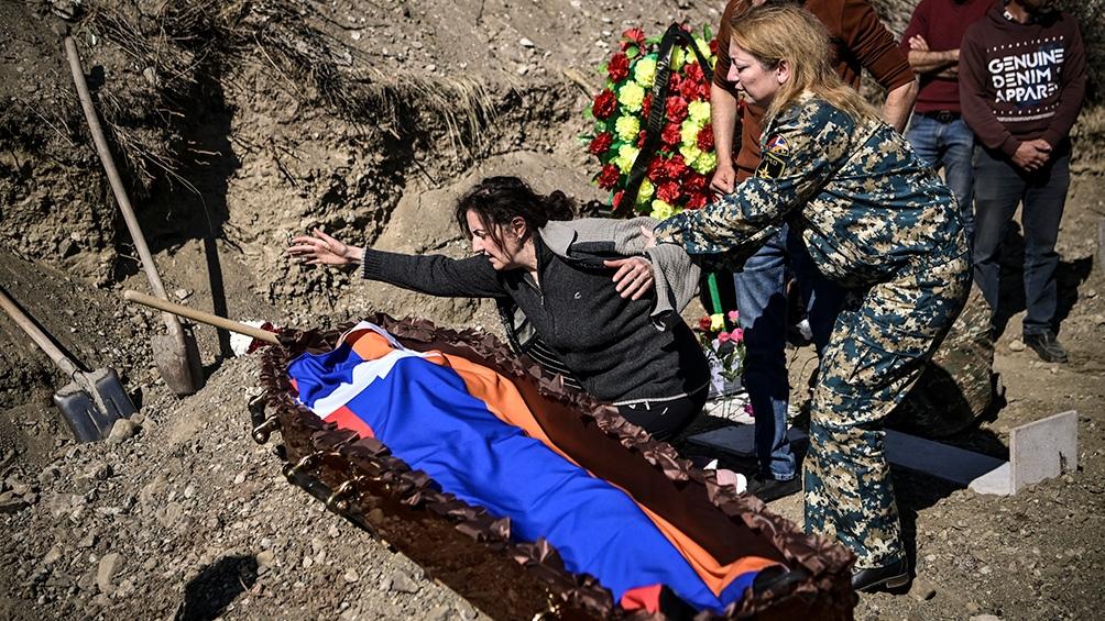 Desde el rebrote de las hostilidades, Azerbaiyán y Armenia pactaron ya dos armisticios en Nagorno Karabaj.