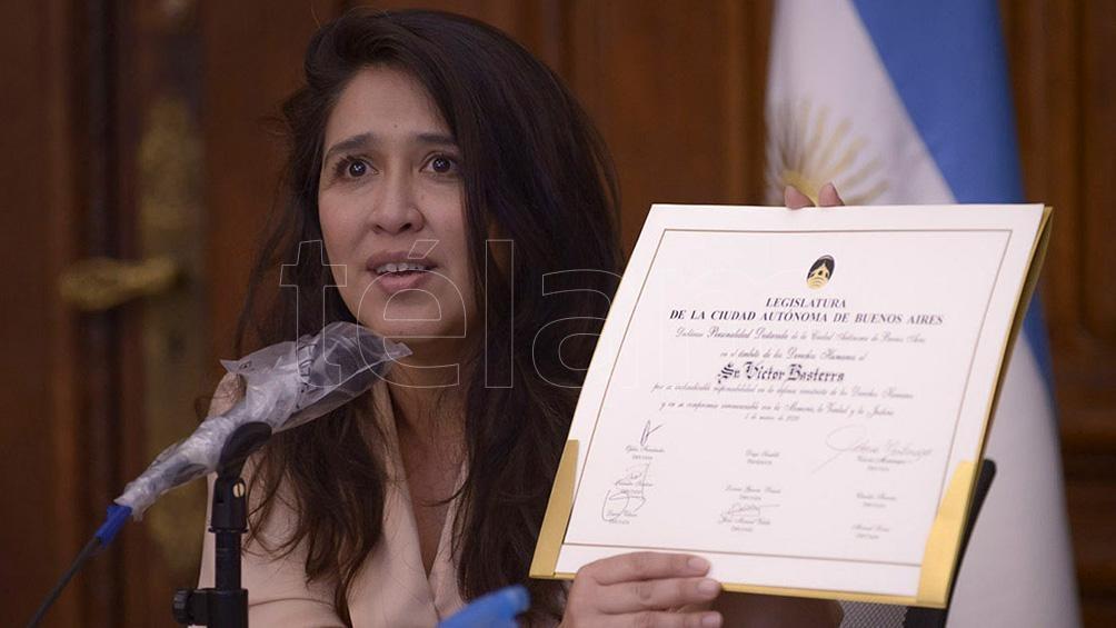 Victoria Montenegro, quien preside la Comisión de Derechos Humanos de la Legislatura porteña.