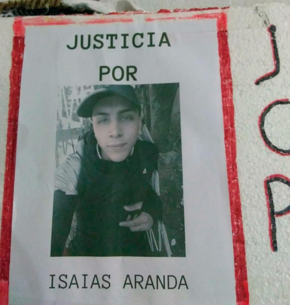 Aranda murió pocos minutos después de recibir un tiro en el pecho.