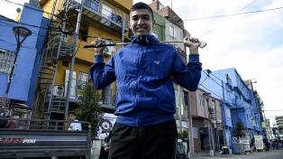Dylan Reales, el golfista del Barrio 31 que sueña con ser profesional