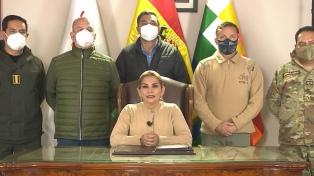 Citaron a los exministros de Jeanine Áñez en una causa por presuntos actos de corrupción