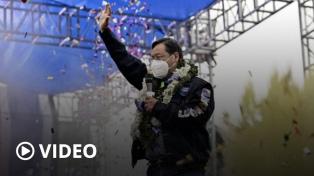 De la mano de Arce, el partido de Evo retorna al poder en un país dividido y en crisis