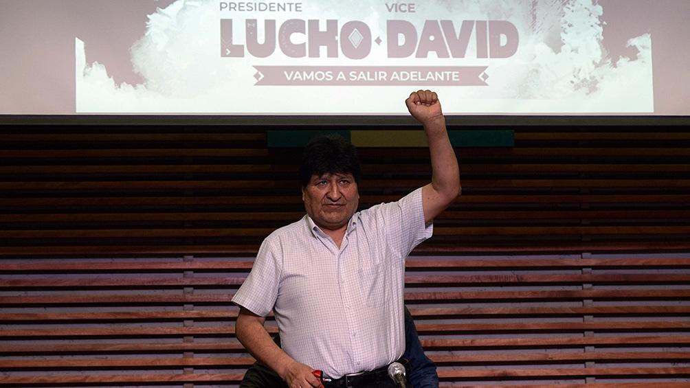 """Triunfante, Evo Morales prometió que """"tarde o temprano"""" volverá a Bolivia -  Télam - Agencia Nacional de Noticias"""
