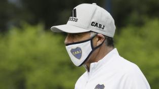 El colombiano Felipe Román llegó al país para sumarse al Boca de Miguel Russo