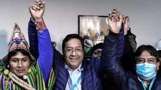 """Para el Gobierno, el triunfo de Arce es un """"acto de justicia"""""""