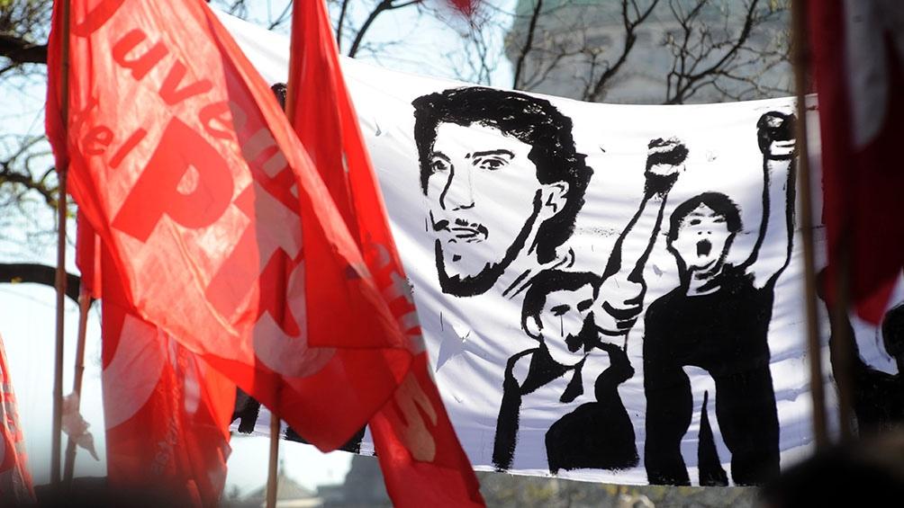 Realizan un acto homenaje a diez años del asesinato de Mariano Ferreyra