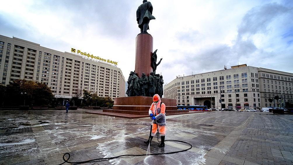 La mayoría de los nuevos casos en Rusia corresponden a Moscú
