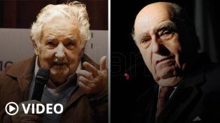 Los expresidentes Mujica y Sanguinetti se despidieron de sus bancas de senadores