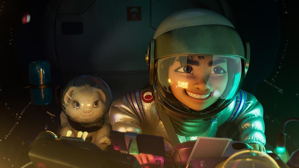 """Kleane es el creador de la película """"Más allá de la Luna"""", estrenada por Netflix en octubre."""