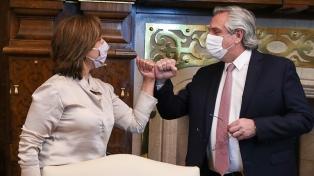 Fernández acordó con Carreras la creación de una mesa de diálogo para resolver conflictos de tierras