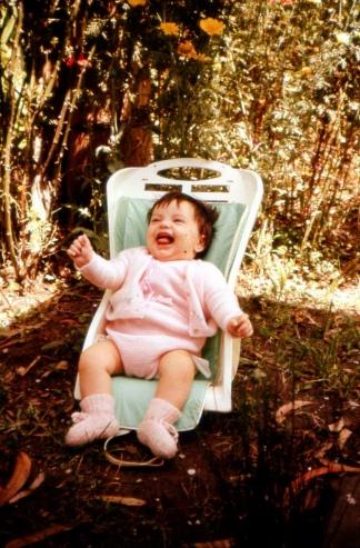 Una de las últimas fotos de la beba apropiada.