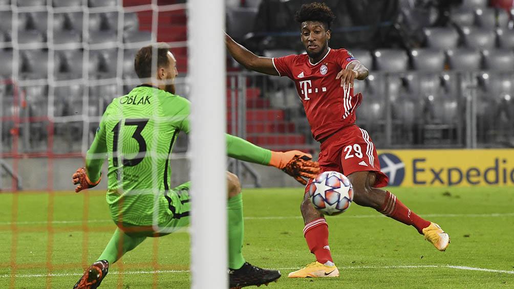 Bayern Múnich goleó con gran fútbol al Atlético Madrid