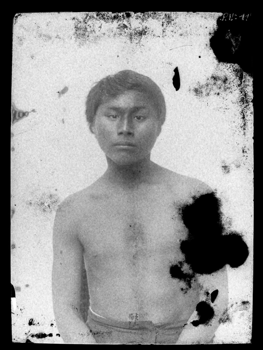 Maish Kensis llegó prisionero al Museo de La Plata en 1886