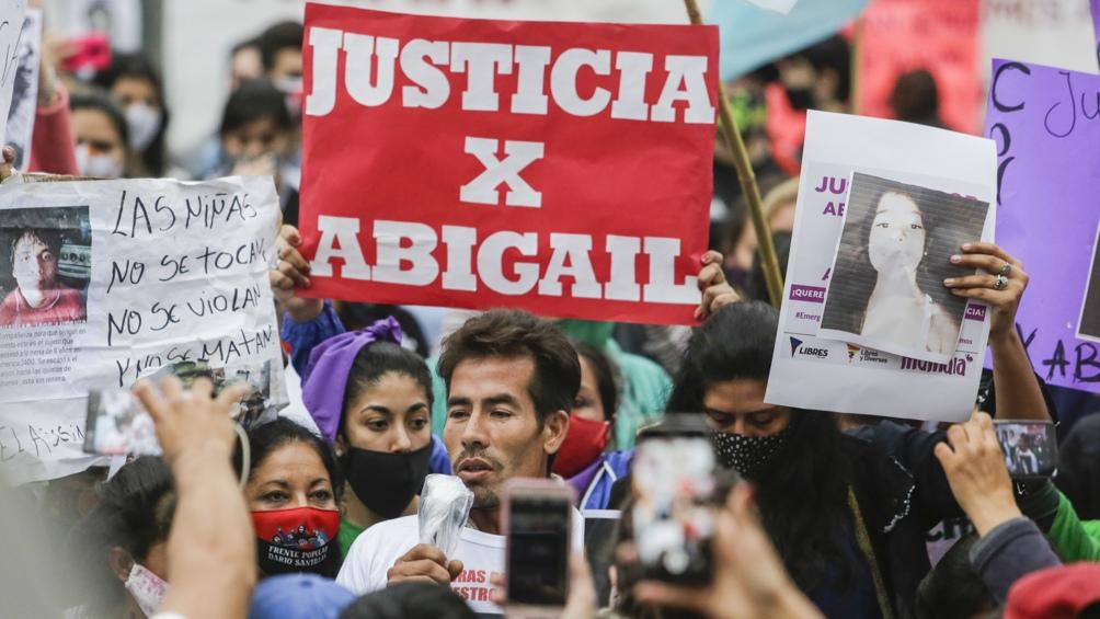 El femicidio de la niña Abigail Riquel conmocionó a Tucumán