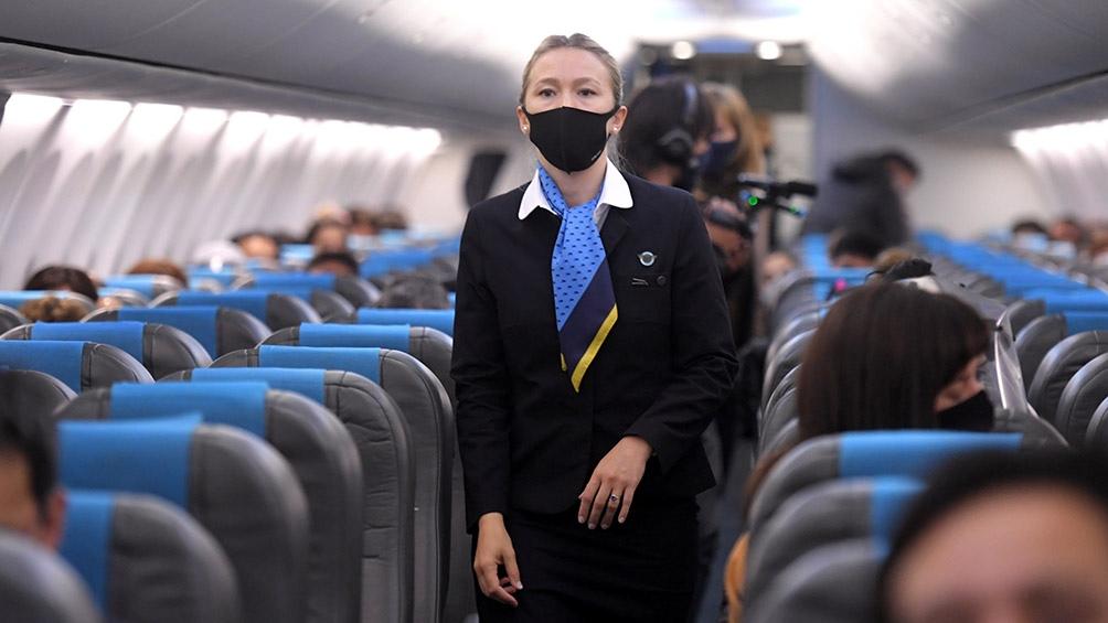 Desde el 22 de octubre, Aerolíneas Argentinas ha retomado su operación de vuelos domésticos con partidas diarias
